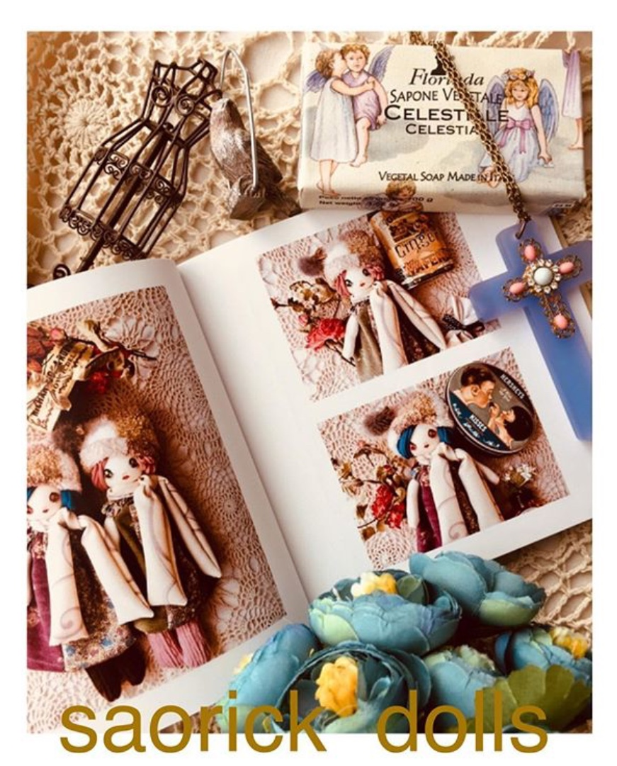 saorick dolls  アートブック Door Number Two For all time