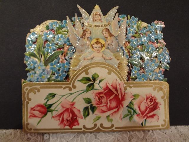 クロモス立体カード天使