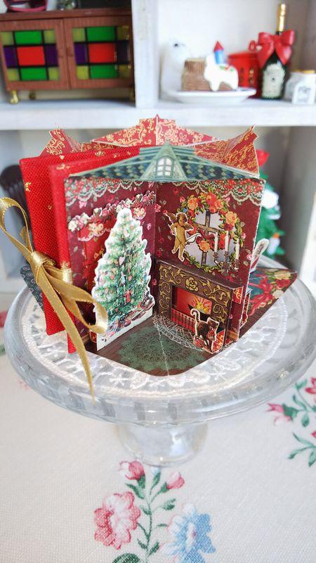 豆本クリスマス