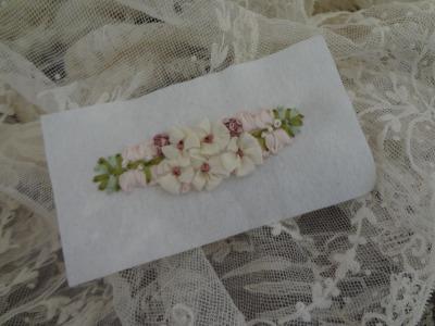 リボン刺繍パーツA