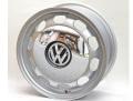 Core OBJ VWビートル ヘリテイジホイール シルバー クロームキャップ付 6.5x16 ET38 4本SET