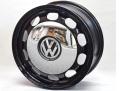 Core OBJ VWビートル ヘリテイジホイール ブラック クロームキャップ付 6.5x16 ET38 4本SET