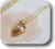 イニシャル彫刻 名入れ 白蝶貝