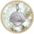 貝殻型のロケットペンダント