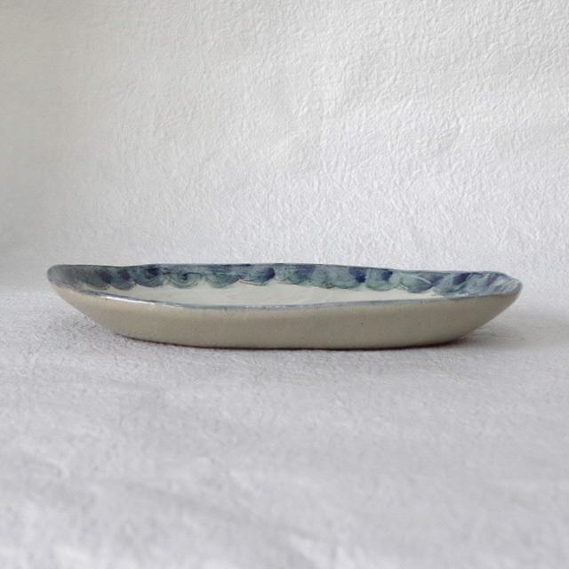 火音陶房 楕円皿 横