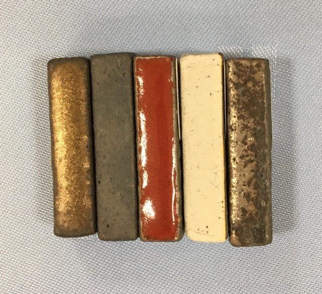 信楽文五郎窯 箸置き スティックミニ5色セット