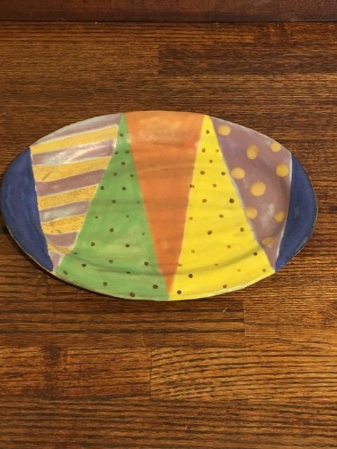 小林美風 楕円皿