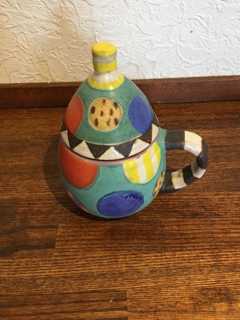 小林美風 蓋付きマグカップ