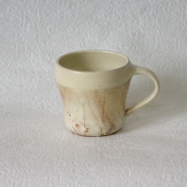 たて鉄線 マグカップ