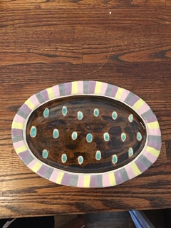 小林美風 オーバルプレート皿
