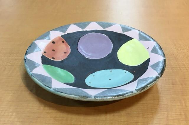 小林美風 丸皿 風船