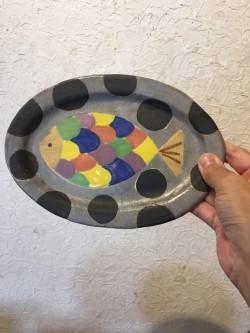 小林美風 オーバル皿