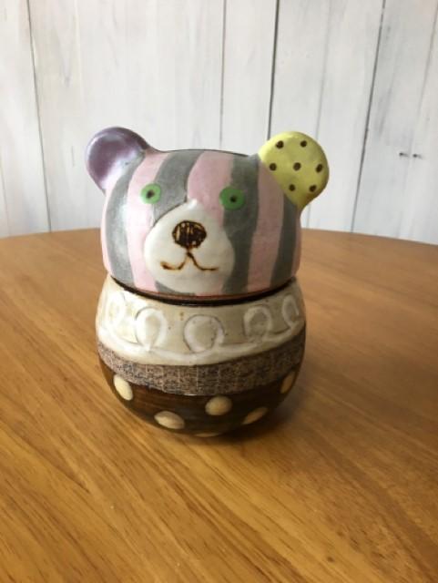 小林美風 クマ キャンディーポット