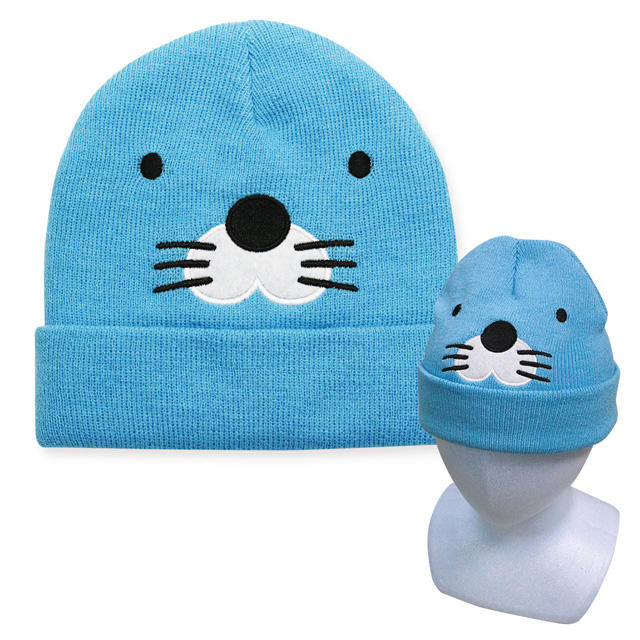 ニット帽/ぼのぼの