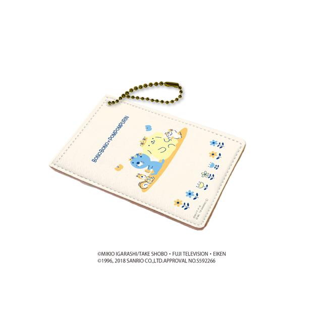 キャラパス「ぼのぼの×ポムポムプリン」01/ベージュ