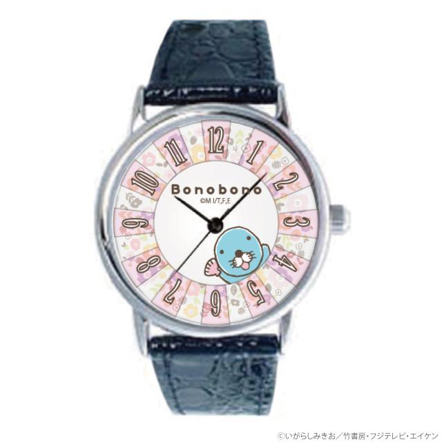 ぼのぼの 腕時計/お花アーチ