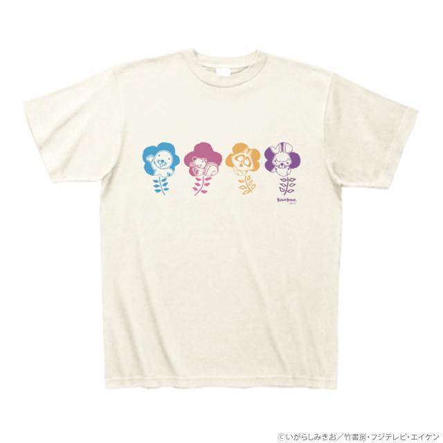 ぼのぼの フラワーTシャツ