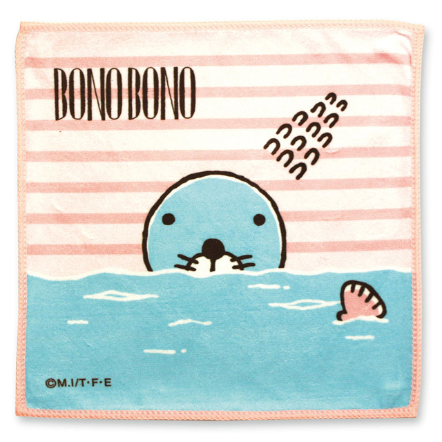 ミナタオル/リラックスアート ぼのぼの海