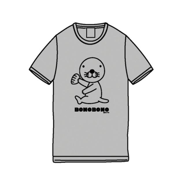 Tシャツ/ぼのぼのグレー