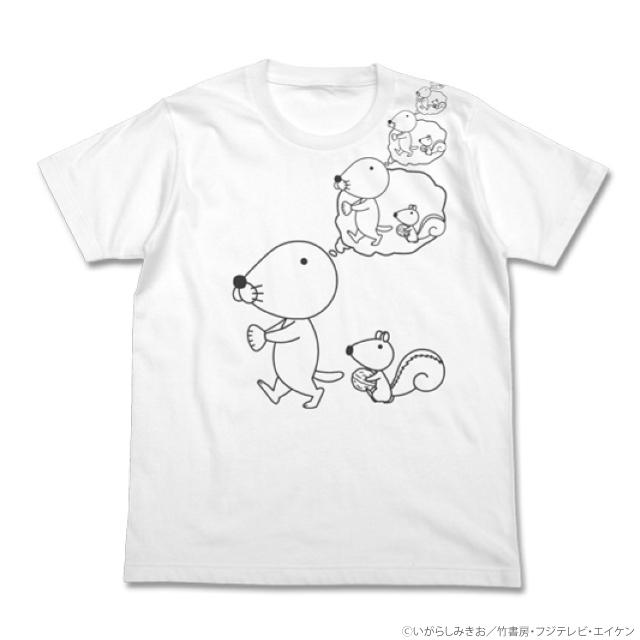 ぼのぼの妄想Tシャツ(WHITE)