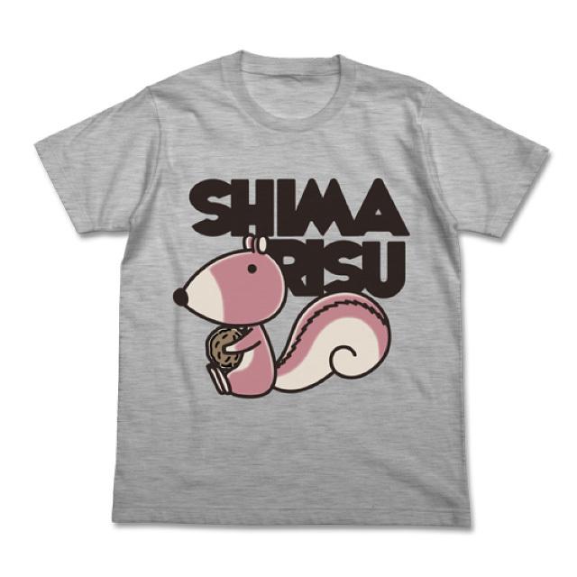 シマリス Tシャツ(HEATHER GRAY)