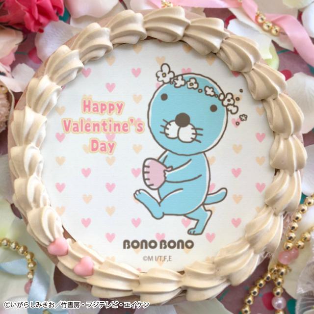 バレンタインプリケーキ