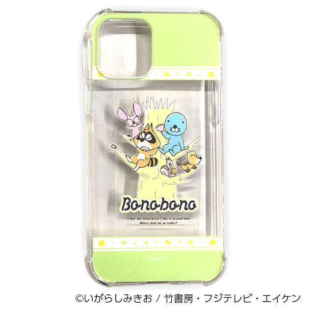 ぼのぼの iPhoneケース 木登り(iPhone12/12Pro用)