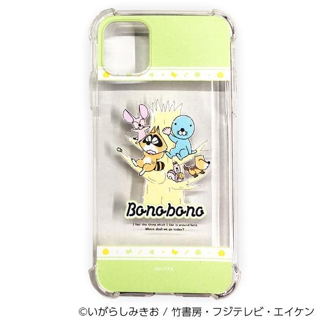 ぼのぼの iPhoneケース 木登り(iPhone11用)