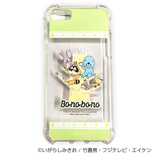 ぼのぼの iPhoneケース 木登り(iPhone6/6s/7/8/SE2用)