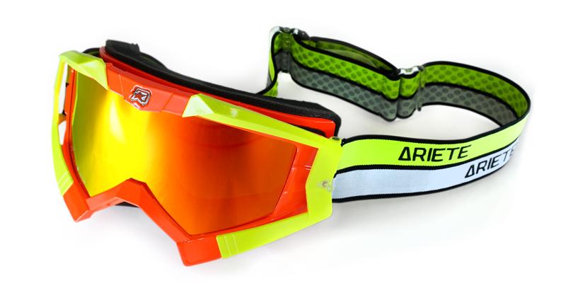 ライディング・クロウズ プラス [アジアンフィット] 眼鏡対応オフロードゴーグル BONSAI Orange【限定カラー】