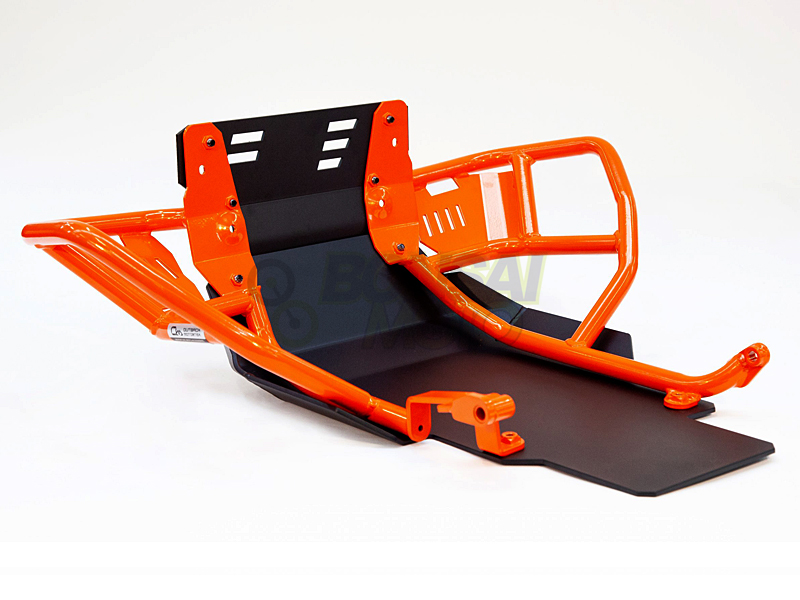 KTM 790 Adventure/R クラッシュバー&スキッドプレート