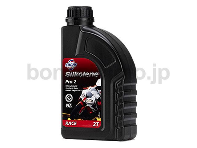 オイルSilkolene(シルコリン) [PRO2] 混合専用2ストロークエンジン用(100%化学合成) 1L