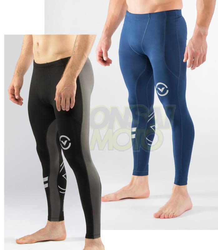 【新商品】ロングパンツ コンプレッション(SiO16-v3) VIRUS メンズ Stay Warm 暖速乾