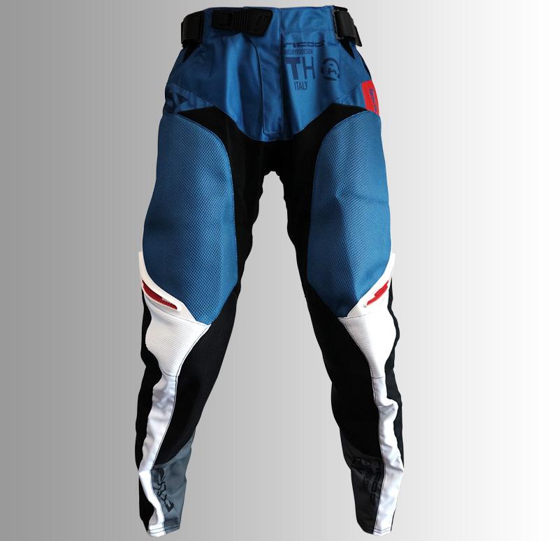【NEW】Ricoo モトクロスウェア パンツ THAIR GREY(BLUE)