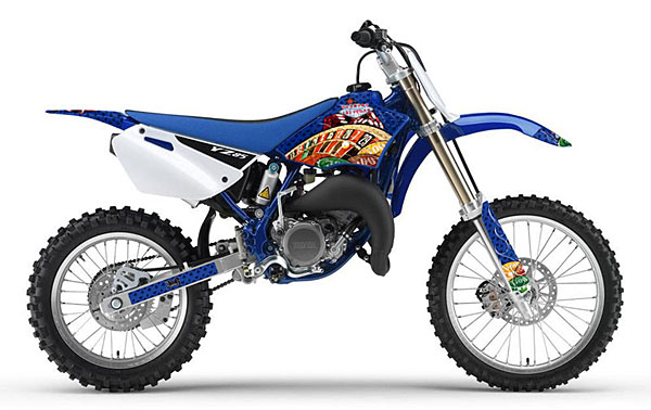 YZ85 (02-14) AMRデカール  シュラウドキット