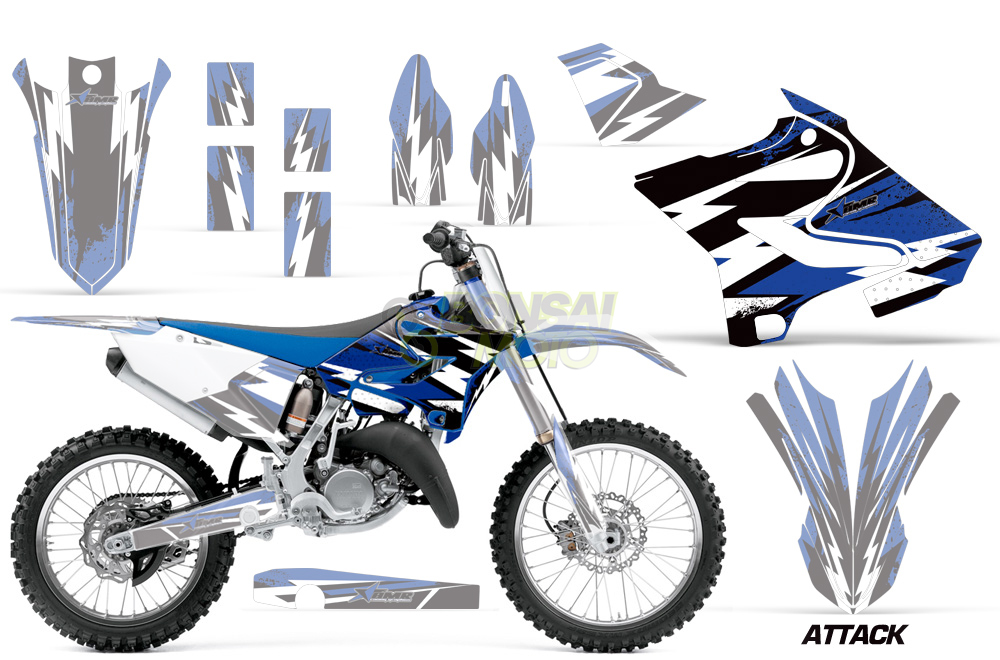 YZ125/250 (15-17) AMRデカール シュラウドキット