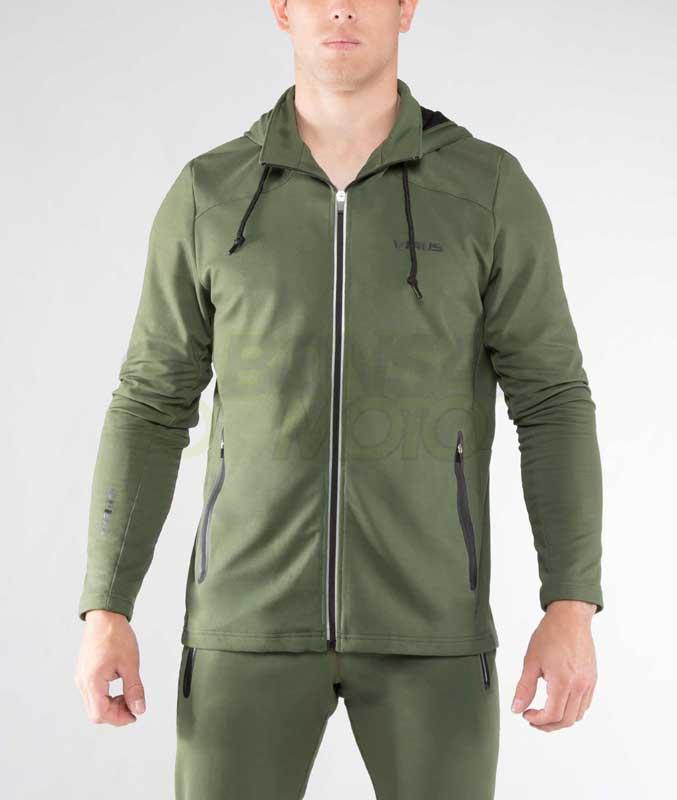 フルジップアップ トレーニングジャケット(Au17) VIRUS メンズ Energyシリーズ