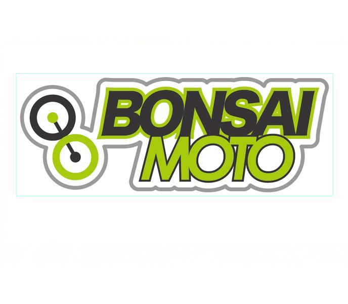 BONSAIMOTOステッカー1枚