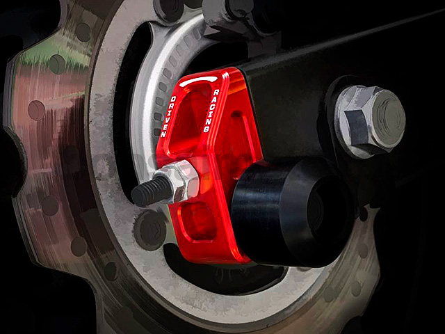 DRIVEN CBR400R アクスルブロックスライダー