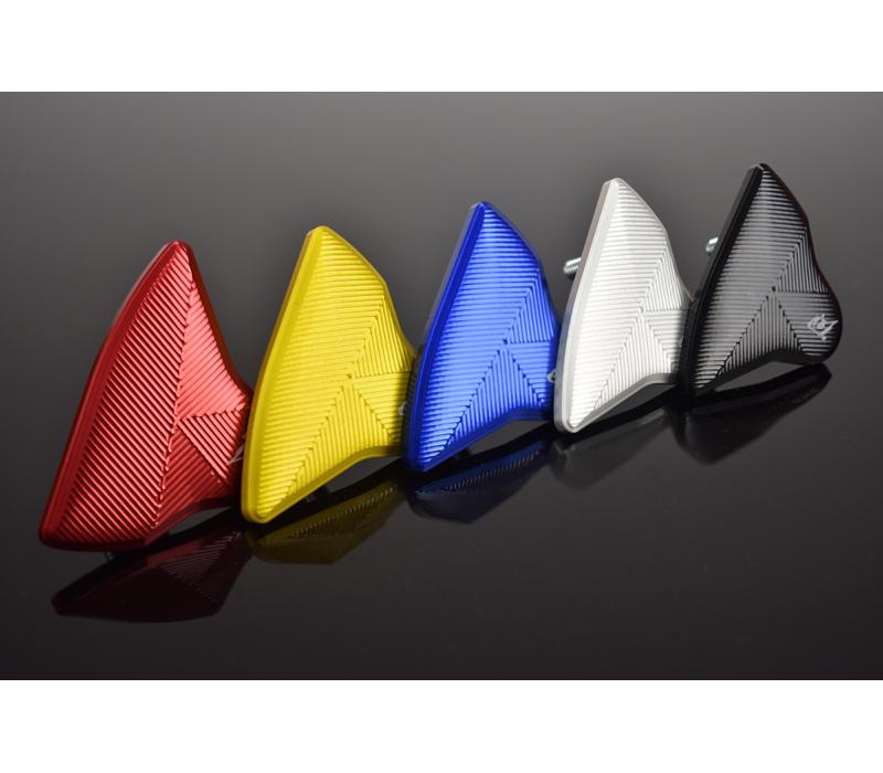 YAMAHA R-6 (17-20) ミラーエリミネーター(ミラーブロックオフ)全5色 DRIVEN