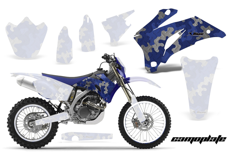 WR250F (07-14) AMRデカール シュラウドキット