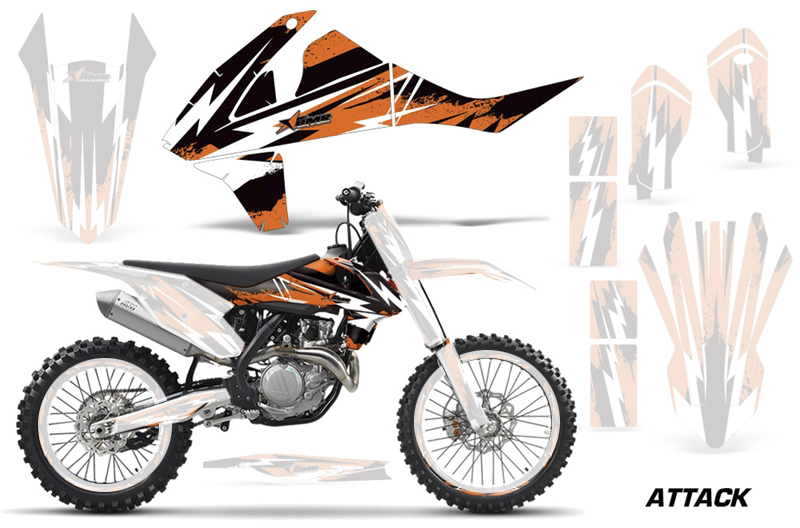 C10  SX-F250/350/450 (16-)  SX125/450 (16-) AMRデカール シュラウドキット