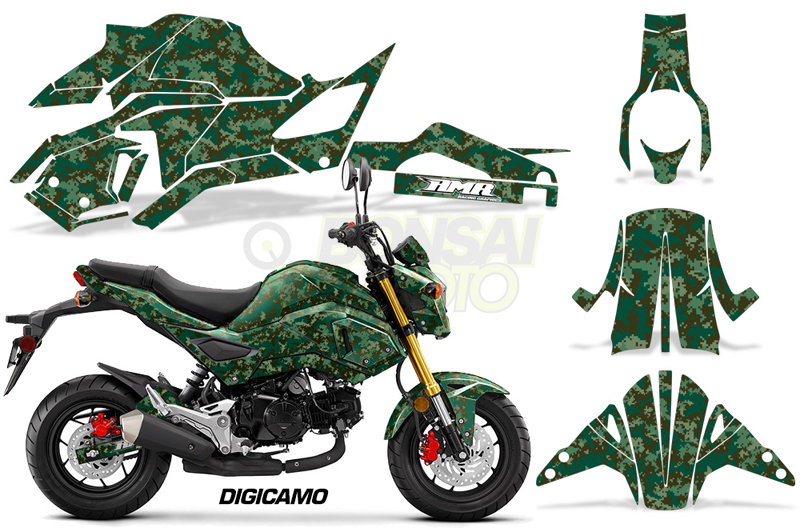 HONDA GROM125 Sport Bike Graphic Kit (16-17) AMRデカール コンプリートキットSPORTSBIKE