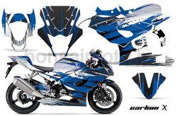 Suzuki GSX-R 1000 Sport Bike Graphic Kit (05-08) AMRデカール コンプリートキットSPORTSBIKE