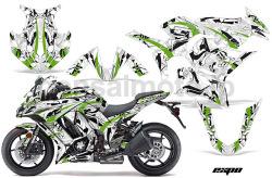 Kawasaki Ninja1000 Sport Bike Graphic Kit (10-16) AMRデカール コンプリートキットSPORTSBIKE