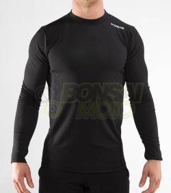 ファンクショナル ロングスリーブ (SiO19) VIRUS メンズ Stay Warm 暖速乾 フィンガーホール付き