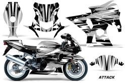 Suzuki GSX-R 1000 Sport Bike Graphic Kit (01-02) AMRデカール コンプリートキットSPORTSBIKE
