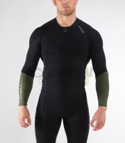 【新商品・限定】ロングスリーブ コンプレッション(Co49) VIRUS メンズ StayCool 冷速乾 ラッシュガード
