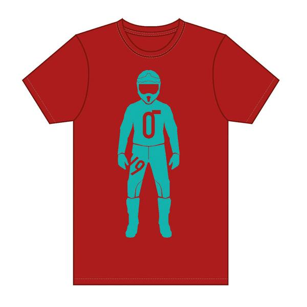 Ricoo オリジナルTシャツ RED