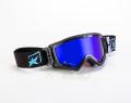 マッドマックス [ユーロフィット] 眼鏡対応オフロードゴーグル Black/Blue